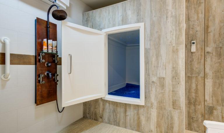 Inside the Float Room